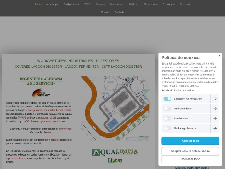 AquaLimpia screenshot