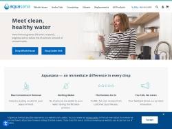 Aquasana Water Filters screenshot