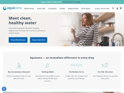 Aquasana Home Water Filters screenshot