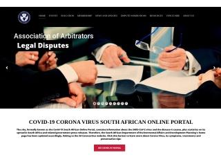Screenshot for arbitrators.co.za