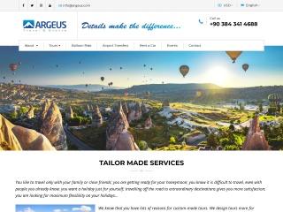 argeus.com.tr için Ekran Görüntüsü