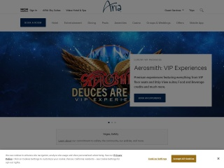 Screenshot for arialasvegas.com