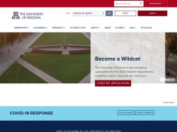 The University of Arizona, Tucson, Arizona