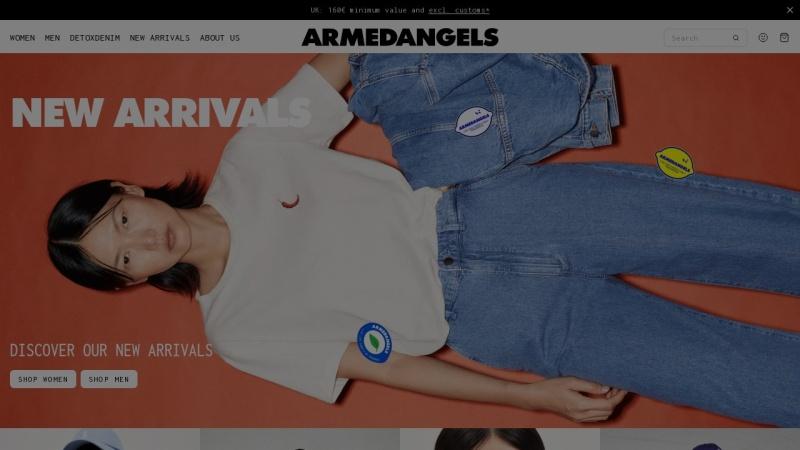www.armedangels.de Vorschau, Aarmedangels, Social Fashion Company GmbH