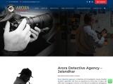 Arora Detective – Detectives in Punjab | Best Detective | Investigator in Jalandhar