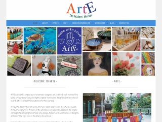 Screenshot for arte.ae