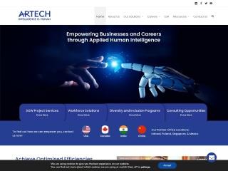 Screenshot for artechinfo.in