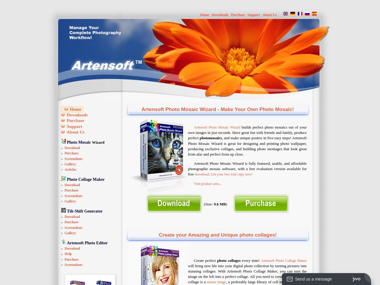 Artensoft Photo Collage Maker (Service License)