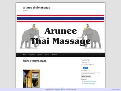 www.aruneethaimassage.n.nu