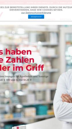 Vorschau der mobilen Webseite www.arzw.de, Apothekenrechenzentrum Wünsch GmbH