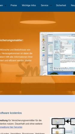 Vorschau der mobilen Webseite www.asasoft.de, ASAsoft, Inh. Markus Mathisson