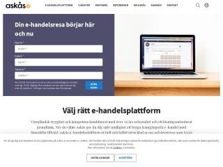Screenshot for askasehandel.no