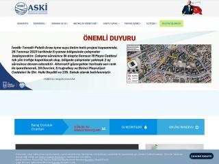 aski.gov.tr için Ekran Görüntüsü