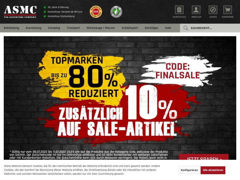 Asmc - The Adventure Company (germany) Coupon Codes