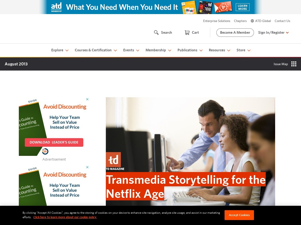 Transmedia Storytelling for the Netflix Age