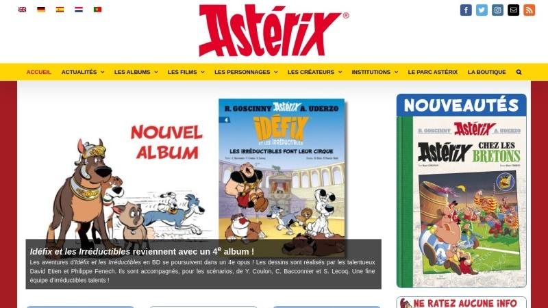 www.asterix.com Vorschau, Asterix, der gallische Krieger
