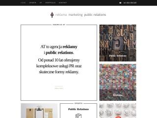 Zrzut ekranu strony at-at.pl