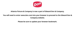 Screenshot for atlantafixtures.com