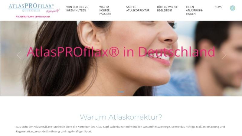 www.atlasprofilax.de Vorschau, Atlasprofilax® Sektion Deutschland e.V.