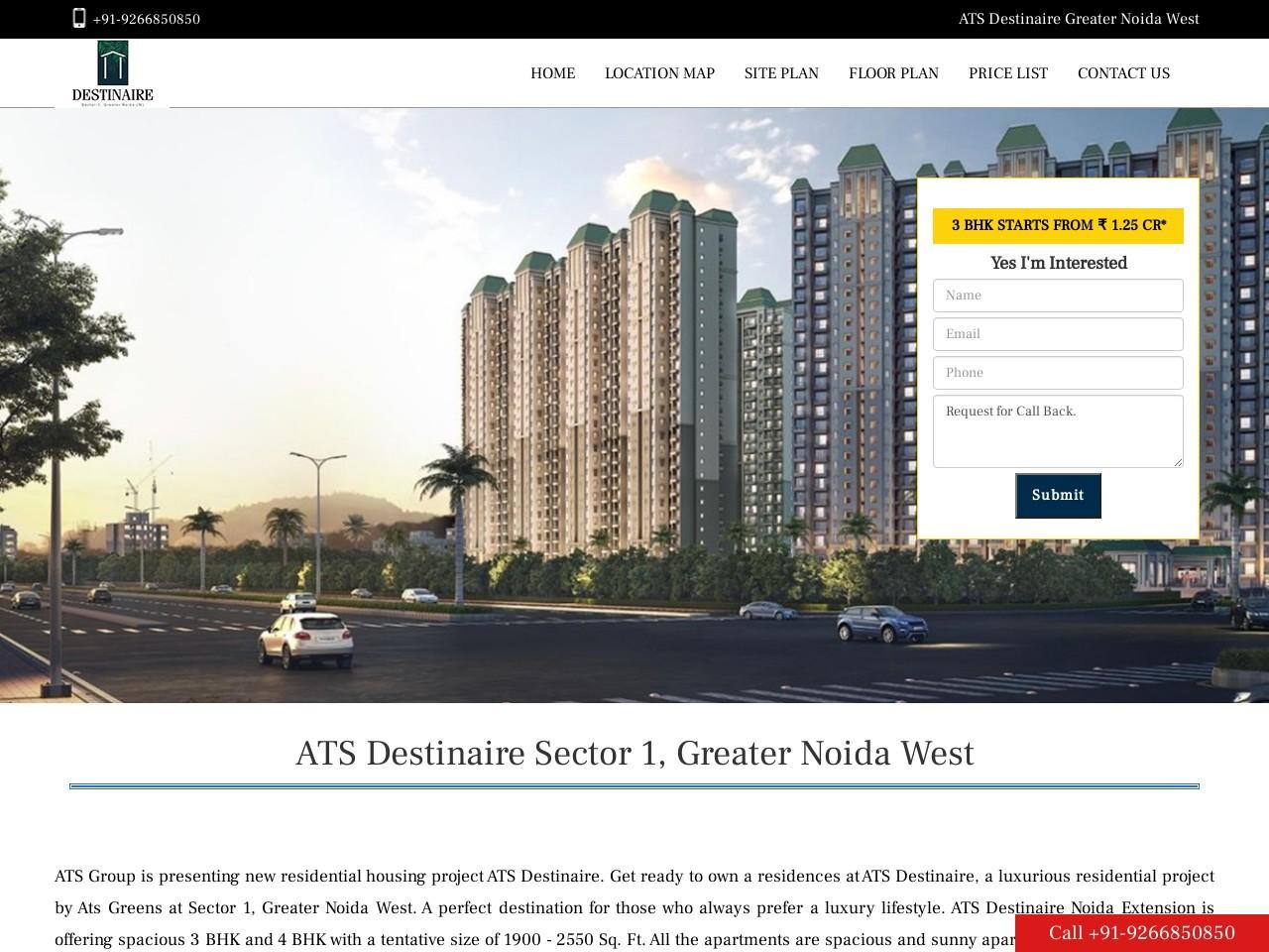 ATS Destinaire Noida Extension Price List