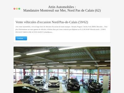 Mandataire automobile Nord-Pas-de-Calais (59/62)