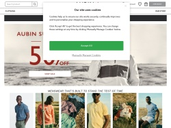 Aubin And Wills coupon codes December 2017
