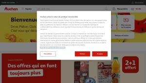Code promo Auchan -10€ sur Vêtement et Chaussures Bébé