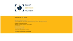www.augencentrum-muelheim.de Vorschau, Augenzentrum Mülheim