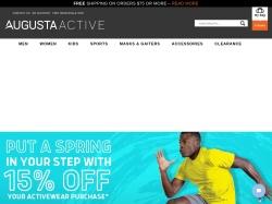 Augusta Sportswear screenshot