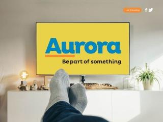 Screenshot for aurora.tv