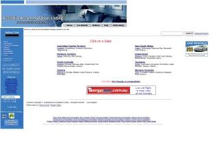 Screenshot for australia-hotels.net