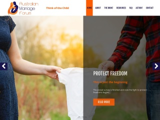 Screenshot for australianmarriage.org