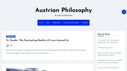www.austrian-philosophy.at Vorschau, Fdoep