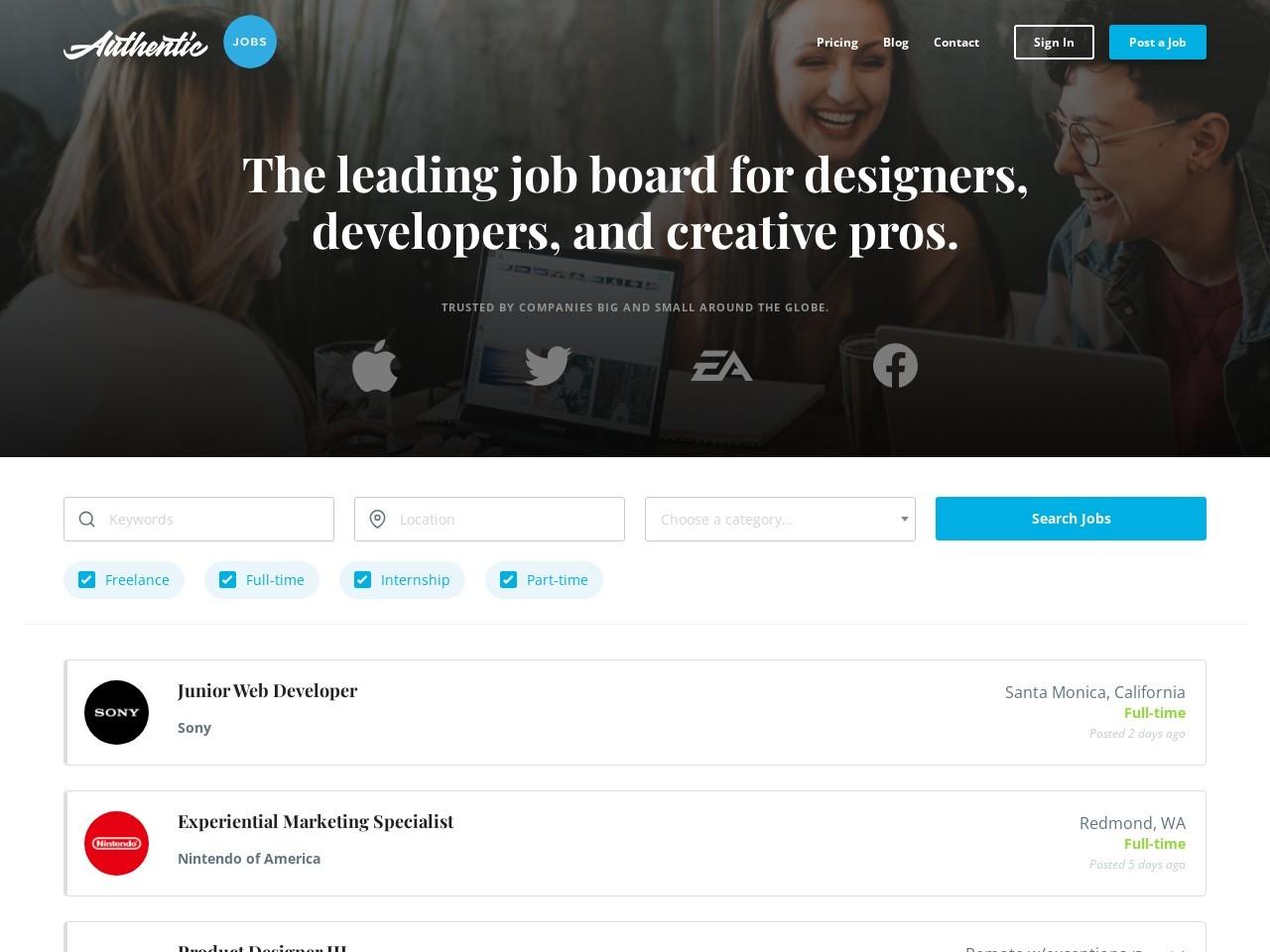 iOS Developer at Hudl ~ Authentic Jobs