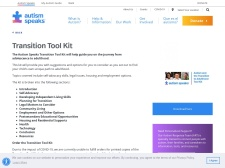 http://www.autismspeaks.org/family-services/tool-kits/transition-tool-kit