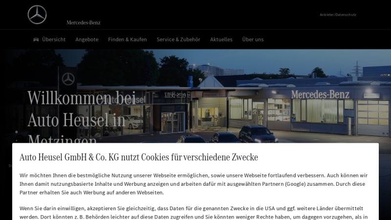 www.auto-heusel.de Vorschau, Auto Heusel GmbH & Co. KG