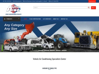 Screenshot for autoair.ie