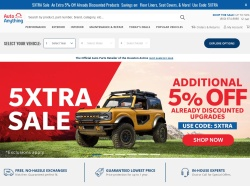 AutoAnything Coupons & Offers
