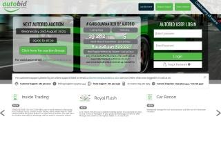 Screenshot for autobid3.co.za