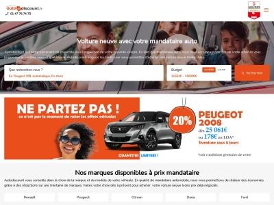 AutoDiscount.fr - Vente de voiture discount