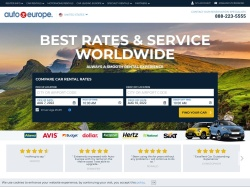 AutoEurope CarRentals screenshot