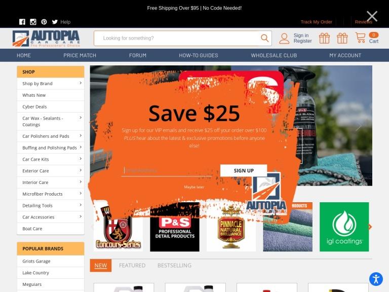 Autopia Car Care screenshot