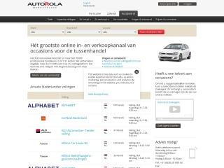 Screenshot voor autorola.nl