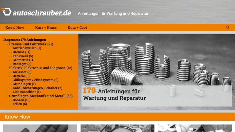 www.autoschrauber.de Vorschau, Autoschrauber.de