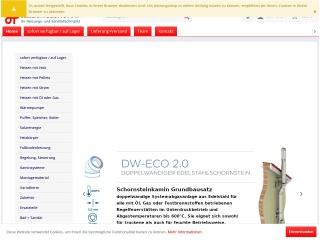 Screenshot der Website autoseite.at