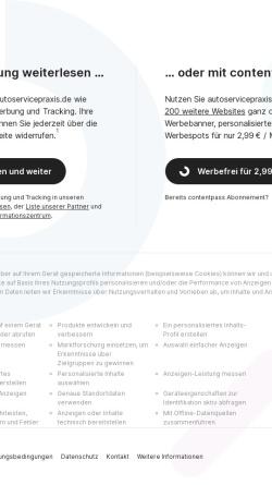Vorschau der mobilen Webseite www.autoservicepraxis.de, Auto Service Praxis