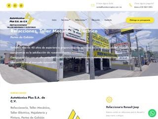 Captura de pantalla para autotecnicaplus.com.mx