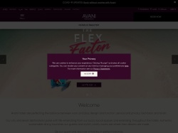 Avani Hotels screenshot
