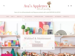 "Ava's Appletree<span class=""blue""> US Coupon Codes </span></h2></div> <div class=""clear""></div> <div class=""coupons_index"" id=""us_coupons_id""> <input type=""hidden"" id=""coupon_code_2375502"" value=""loyal"" /> <input type=""hidden"" id=""coupon_hold_2375502"