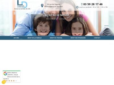 Cabinet de l'avocat Delphine Lancien à Lille